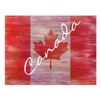 Bandera de Canadá - bandera canadiense - Postales