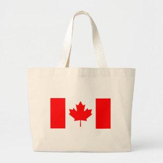 Bandera de Canadá Bolsa Tela Grande