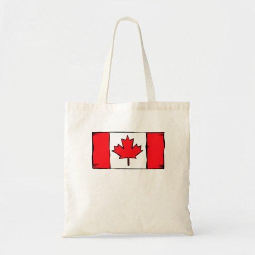 Bandera de Canadá Bolsas De Mano
