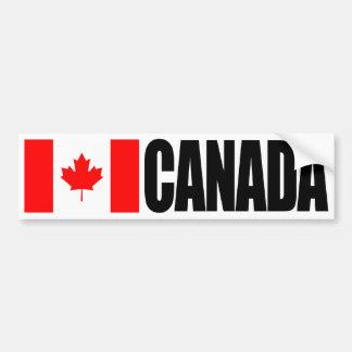 Bandera de Canadá Etiqueta De Parachoque