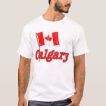 Bandera de Canadá - Calgary Playera