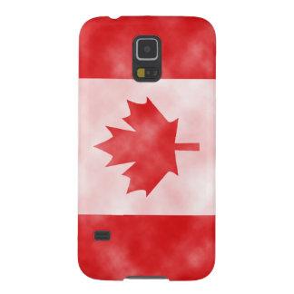 Bandera de Canadá Carcasas De Galaxy S5