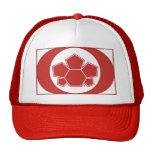 Bandera de Canadá del fútbol Gorros