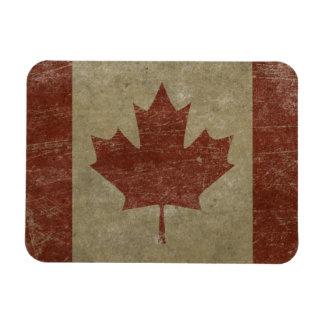 Bandera de Canadá del vintage Imán