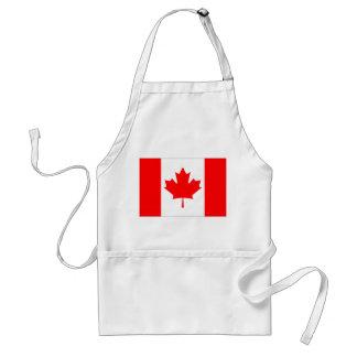 Bandera de Canadá Delantal