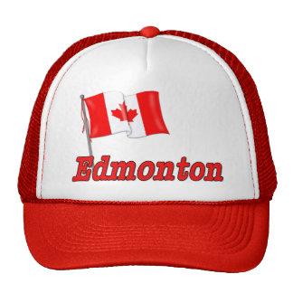 Bandera de Canadá - Edmonton Gorras De Camionero