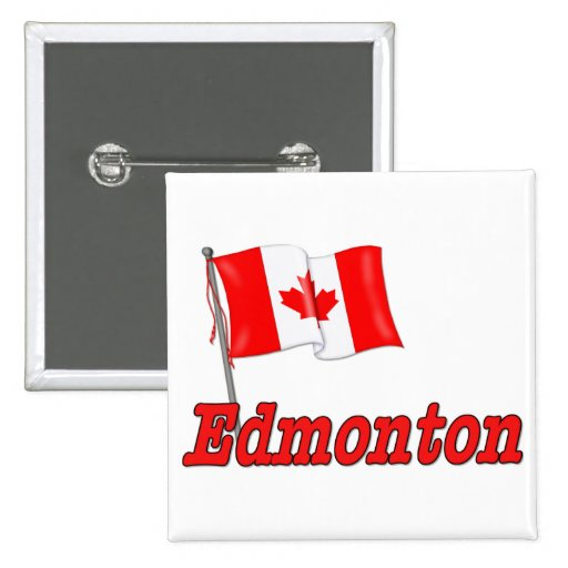 Bandera de Canadá - Edmonton Pin