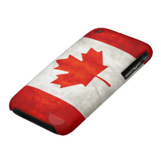 Bandera de Canadá Case-Mate iPhone 3 Fundas