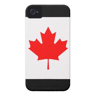 Bandera de Canadá iPhone 4 Funda