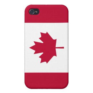 Bandera de Canadá iPhone 4 Protectores