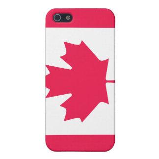 Bandera de Canadá iPhone 5 Carcasas