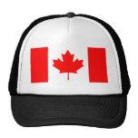 Bandera de Canadá Gorras De Camionero