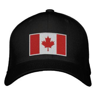Bandera de Canadá Gorros Bordados