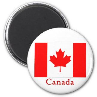 Bandera de Canadá Iman De Frigorífico