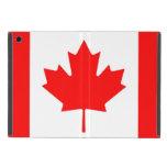 Bandera de Canadá la bandera canadiense iPad Mini Cárcasa