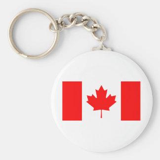 Bandera de Canadá Llaveros Personalizados