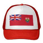 Bandera de Canadá Manitoba Gorra