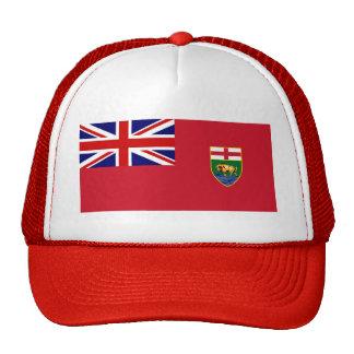 Bandera de Canadá Manitoba Gorras De Camionero