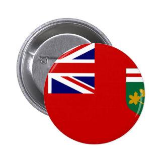 Bandera de Canadá Ontario Pins