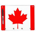 Bandera de Canadá Pizarra