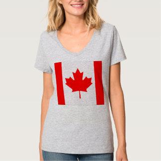 Bandera de Canadá Playeras