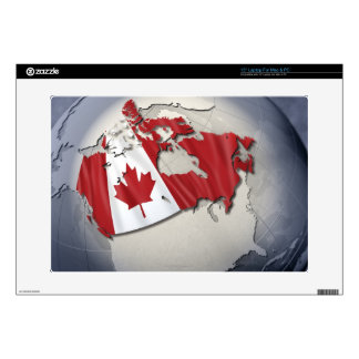 Bandera de Canadá Portátil 38,1cm Skin