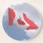 Bandera de Canadá Posavasos Cerveza