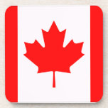 Bandera de Canadá Posavasos De Bebidas