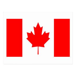 Bandera de Canadá Postales