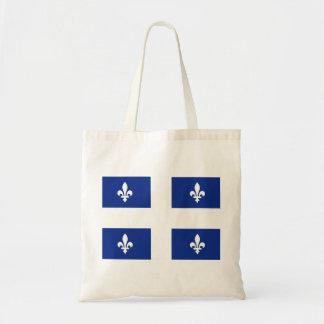 Bandera de Canadá Quebec Bolsa Tela Barata