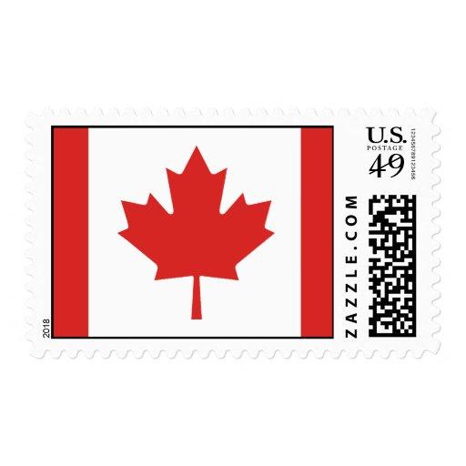 Bandera de Canadá Sello