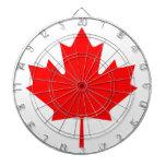 Bandera de Canadá Tablero De Dardos