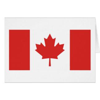 Bandera de Canadá Tarjetas