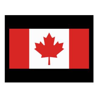 Bandera de Canadá Tarjetas Postales