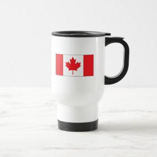 Bandera de Canadá Taza De Viaje