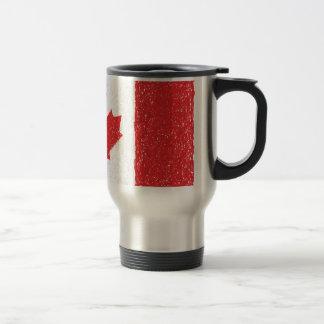 bandera de Canadá Tazas De Café