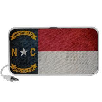 Bandera de Carolina del Norte Sistema De Altavoz