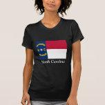 Bandera de Carolina del Norte Camiseta
