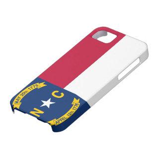 Bandera de Carolina del Norte iPhone 5 Cárcasas