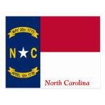 Bandera de Carolina del Norte Postales