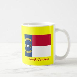 Bandera de Carolina del Norte Taza Clásica