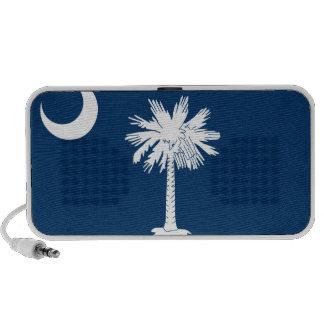 Bandera de Carolina del Sur Laptop Altavoz