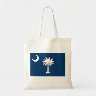 Bandera de Carolina del Sur Bolsa Tela Barata