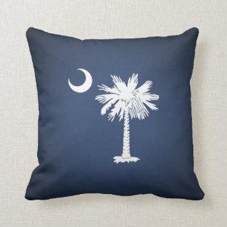 Bandera de Carolina del Sur Cojín