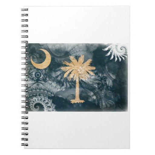 Bandera de Carolina del Sur Cuaderno