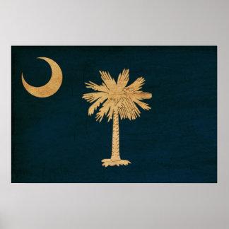 Bandera de Carolina del Sur Impresiones