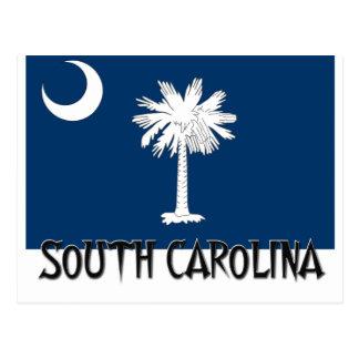 Bandera de Carolina del Sur Postales