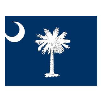 Bandera de Carolina del Sur Tarjetas Postales