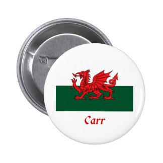 Bandera de Carr Galés Pin