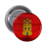 Bandera de Castilla Pin Pin Redondo 5 Cm